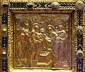 Altare di s. ambrogio, 824-859 ca., fronte dei maestri delle storie di cristo, 07 presentazione al tempio.jpg