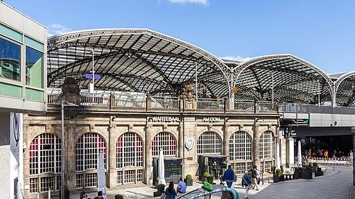 Alter Wartesaal Köln Hauptbahnhof - Wartesaal am Dom-9694
