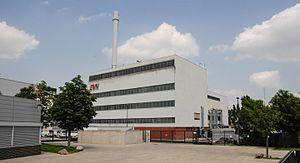EVN Group - Image: Altes Fernheizwerk Mödling von West