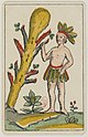 Aluette card deck - Grimaud - 1858-1890 - Ace of Clubs.jpg