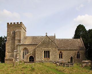 Alvescot Human settlement in England