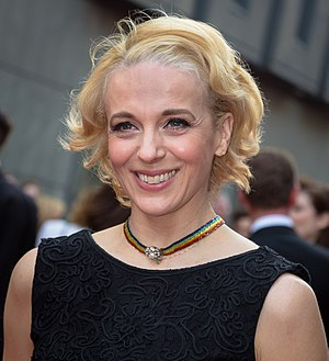 2015 Laurence Olivier Awards - Image: Amanda Abbington at the 2015 Laurence Olivier Awards
