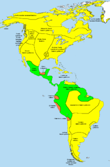 Native American Map Before Colonization.Pre Columbian Era Wikipedia