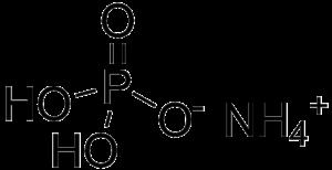 Ammonium dihydrogen phosphate - Image: Ammonium dihydrogen phosphate