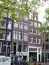 amsterdam bloemgracht 116 and 118 across