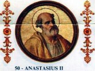 Pope Anastasius II - Image: Anastasius II