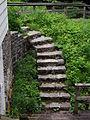 Ancien escalier de la Maison Déry - Pont-Rouge.JPG
