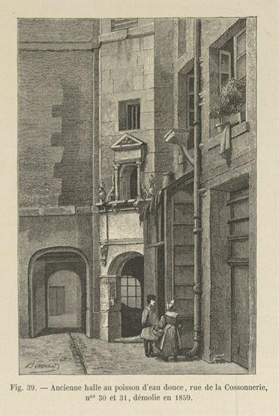 File:Ancienne halle au poisson d'eau douce, rue de la Cossonnerie.jpg