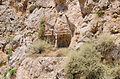Ancient rock cut tomb 3 and 4 - Santorini - Greece - 02.jpg