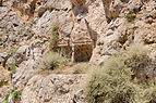 Ancient rock cut tomb 3 and 4 - Santorini - Greece - 02.jpg