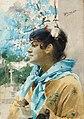 Anders Zorn - Spanjorska i profil I 1885.jpg