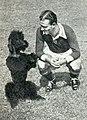 André Simonyi et son chien 'Shot', en juin 1943.jpg