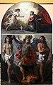 Andrea boscoli (attr.), annunciazione e i ss. sebastiano, michele arcangelo e forse giovanni battista, 1590-1610 ca. (museo diocesano di faenza e modigliana) 01.jpg