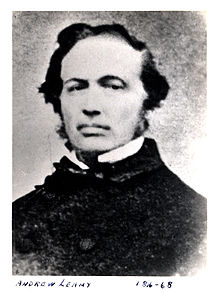Andrew Leamy, pioneer industrialist.