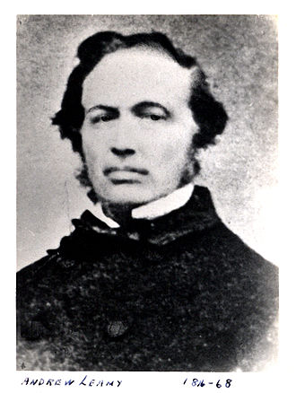 Andrew Leamy - Andrew Leamy, pioneer industrialist.