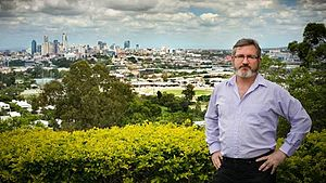 English: Andrew Bartlett who is standing for t...
