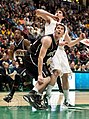 Andrew Smith anticipating rebound - Siena vs. Butler - November 23, 2010.jpg