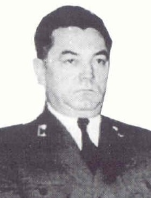 Andrija Artuković - Andrija Artuković in uniform, 1940s.
