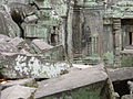 Angkor - Ta Prohm - 025 Stones amidst the Buildings (8581960448).jpg