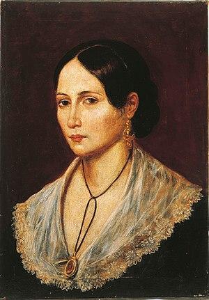 Anita Garibaldi - Image: Anita Garibaldi 1839