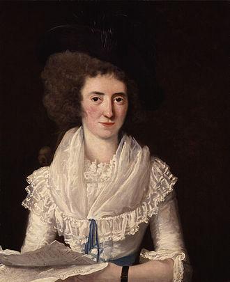 Nancy Storace - Nancy Storace, c. 1790, by Benjamin van der Gucht (1753–1794)