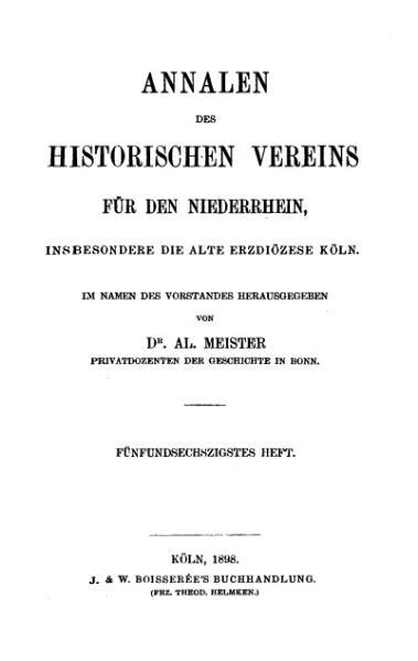 File:Annalen des Historischen Vereins für den Niederrhein 65 (1898).djvu