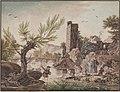 Anon-Riverside- - riverside scene - 1786.jpg