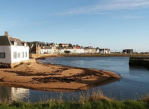 Anstruther - Anstruther from Wester Anstruther.