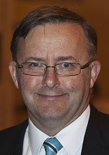 Anthony Albanese 15th Deputy Prime Minister of Australia