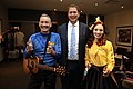 Anthony Field, Andrew Scheer and Emma Watkins in Toronto - 2018 (44167590694).jpg