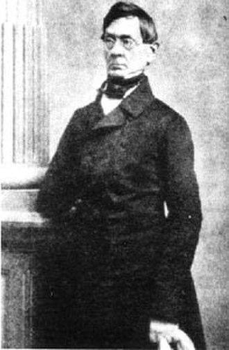 Anton Schindler - Photograph of Anton Felix Schindler.
