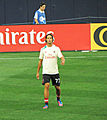 Antonini warm up Real Madrid-Milan 2012.jpg