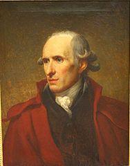 Portrait en buste de M. Canova
