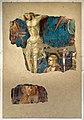 Antonio vite, frammento di crocifissione, 1390-1400 ca. 01.jpg