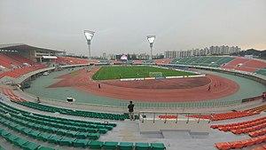 Anyang Sports Complex - Das Anyang-Stadion