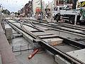Anzin & Valenciennes - Travaux de raccordement des lignes A & B du tramway de Valenciennes à la Croix d'Anzin le 9 août 2013 (34).JPG