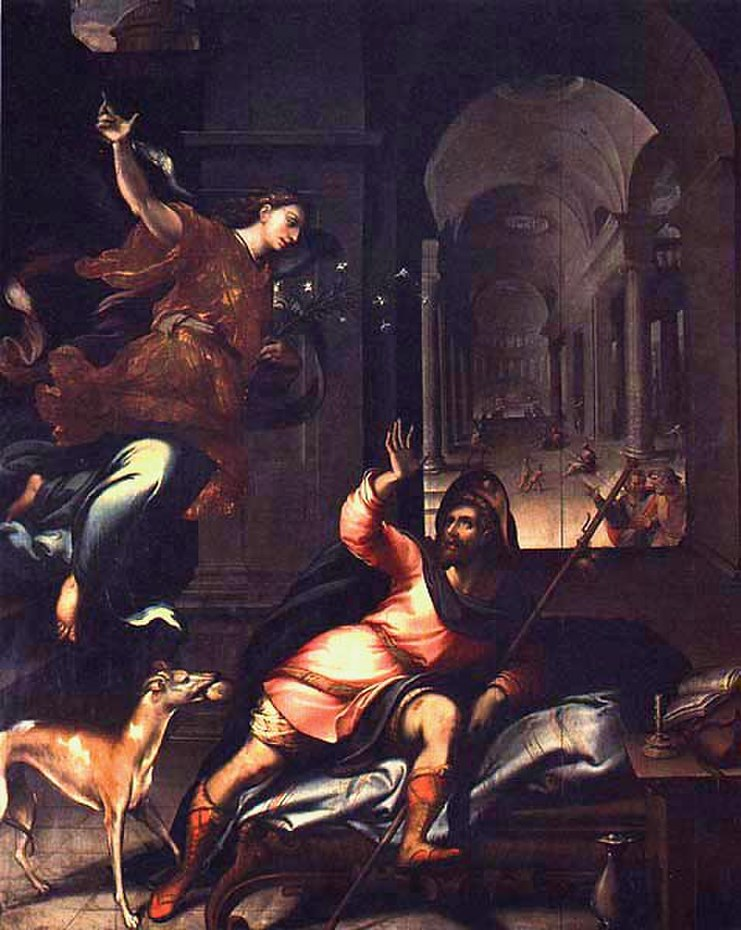 The Appearance of the Angel to St. Roch