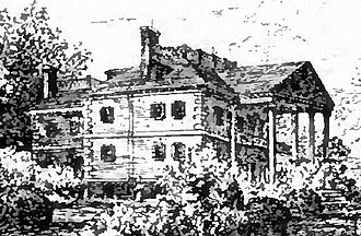 Roger Morris (British Army officer) - The Palladian style mansion built by Morris in northern Manhattan in 1765, the family home until the onset of the American Revolution in 1775. Seen here in 1892, after it had been altered with a Federal style entrance. Today it is the Morris-Jumel Mansion