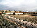 Aqueduc de Zaghouan franchissant l'oued Dar Thouais.JPG