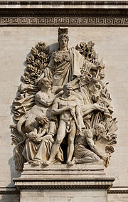 Arc de Triomphe Etoile, Antoine Etex, la Paix de 1815