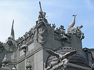 Architectural details on House with Chimaeras 2007.JPG