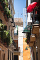 Architecture of the streets of Málaga, Andalusia, Spain, Southeastern Europe.jpg