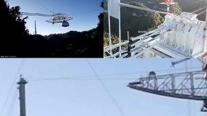 Archivo: Colapso del Telescopio de Arecibo.webm