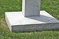 Argonne Cross - base closeup - Arlington National Cemetery - 2011.JPG