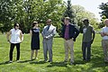 Arlington National Cemetery horticulture department conducts a tree planting ceremony in Section 34 (34324406955).jpg