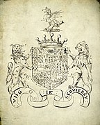 Arms of 2nd Earl of Pembroke as recorded by York Herald, 1620.jpg