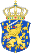 Arms of the Netherlands (with crown).svg
