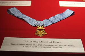 U.S. Army Medal of Honor at the Smithsonian Ai...