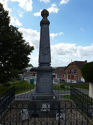 Arnicourt - War Memorial