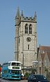 Arriva Kent & Sussex 5928 and St John's Church.JPG